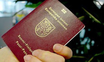 Финский паспорт вошел в тройку самых свободных